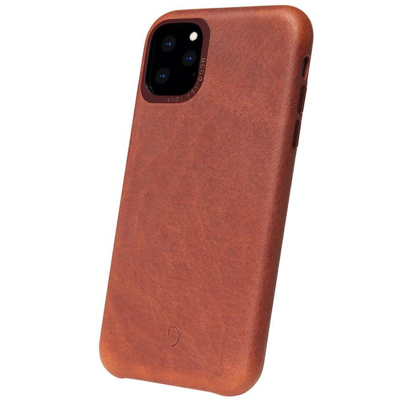 Decoded Leather Backcover Braun für das iPhone 11 Pro Max