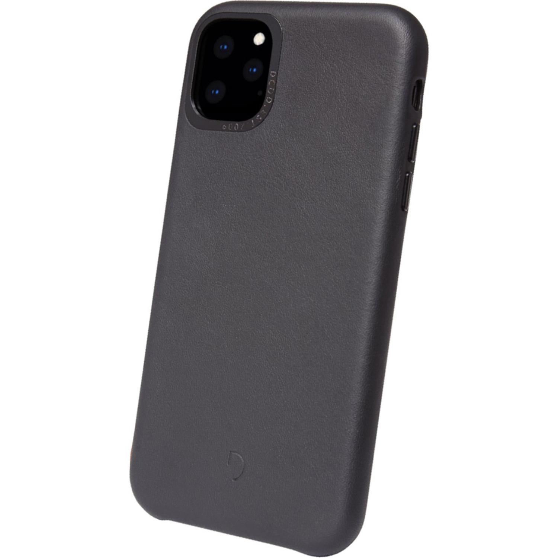 Decoded Leather Backcover Schwarz für das iPhone 11 Pro Max