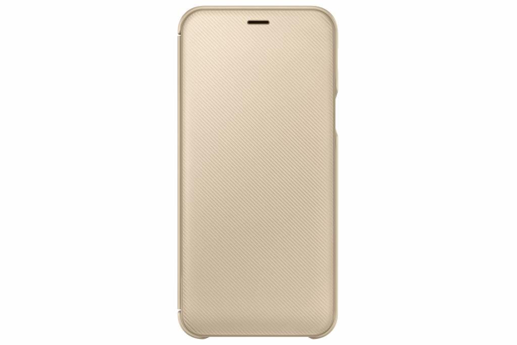 Samsung Goldfarbenes Wallet Cover Galaxy A6 (2018)