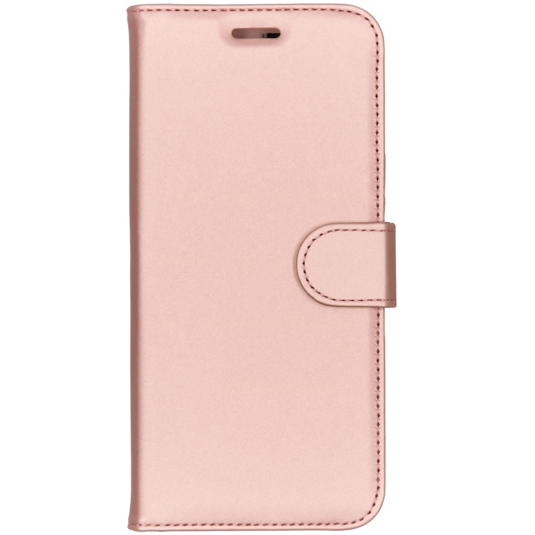 Accezz Wallet TPU Booklet Roségold Motorola Moto E5 / G6 Play