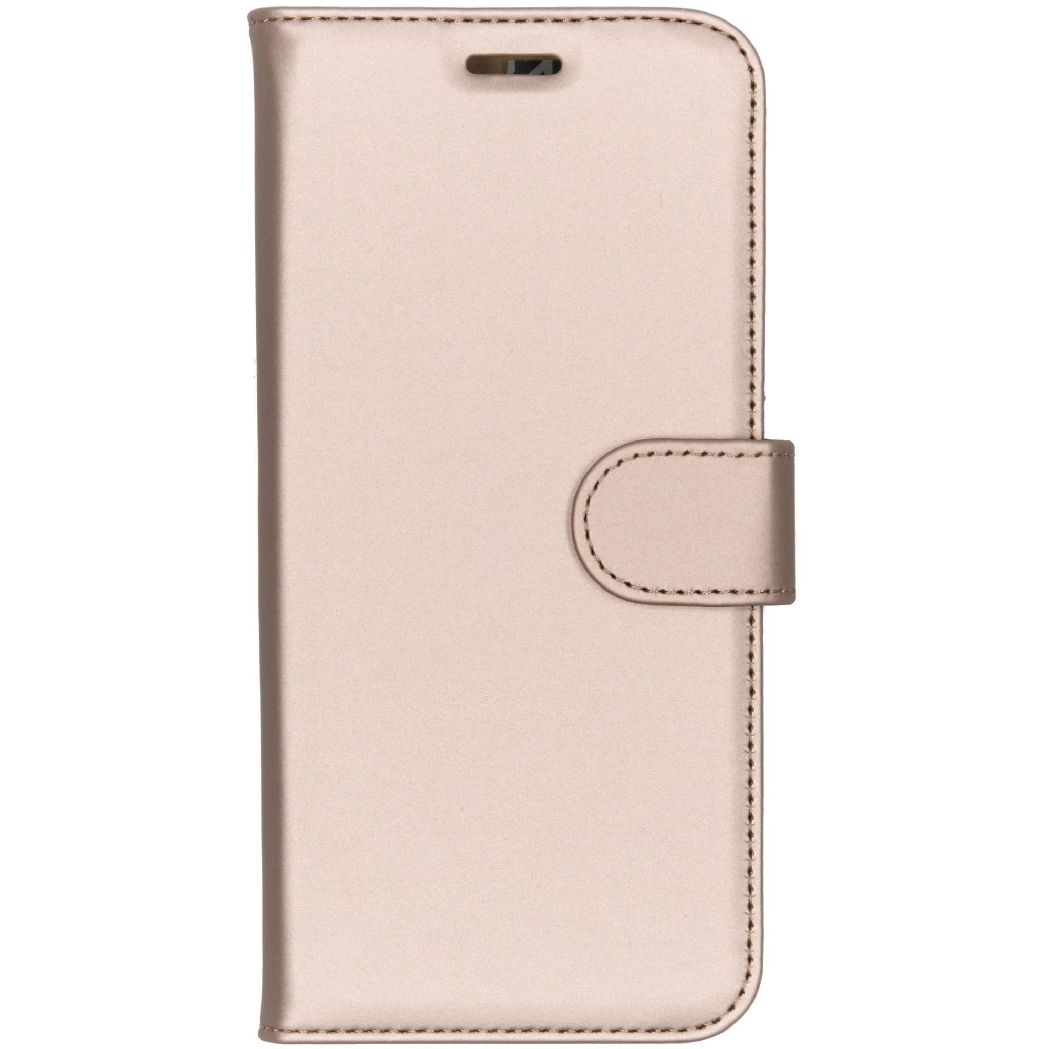 Accezz Wallet TPU Booklet Gold Motorola Moto E5 / G6 Play
