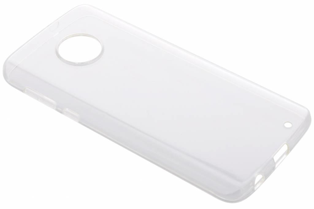 Transparentes Gel Case für das Motorola Moto G6 Plus