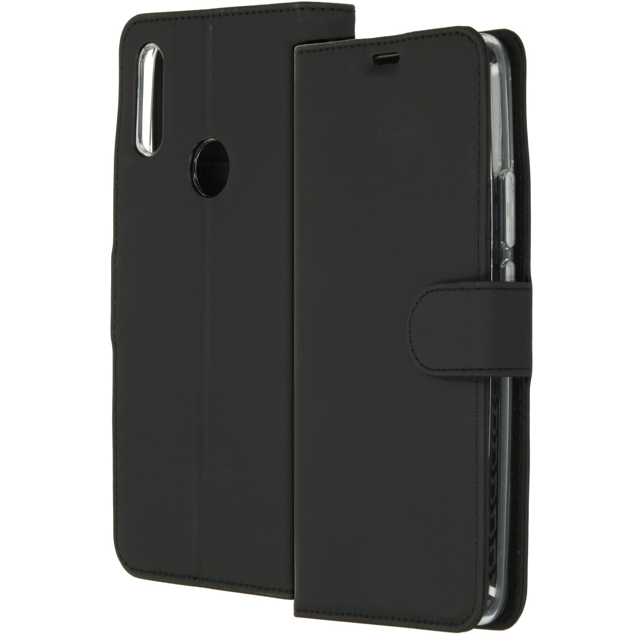 Accezz Wallet TPU Booklet Schwarz für das Huawei P Smart Z