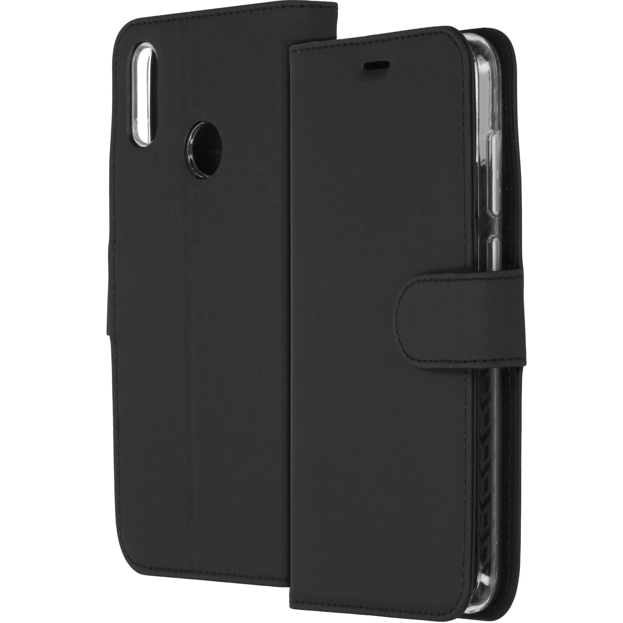 Accezz Wallet TPU Booklet Schwarz für das Huawei Y7 (2019)