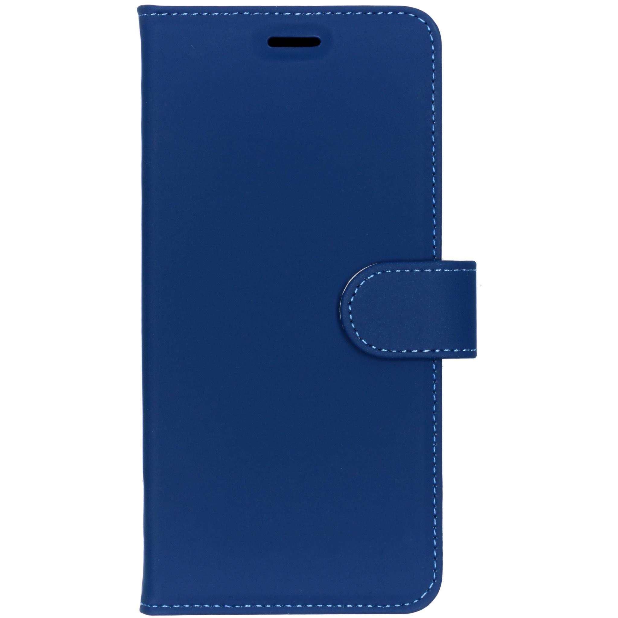 Accezz Blaues Wallet TPU Booklet für das Nokia 7 Plus