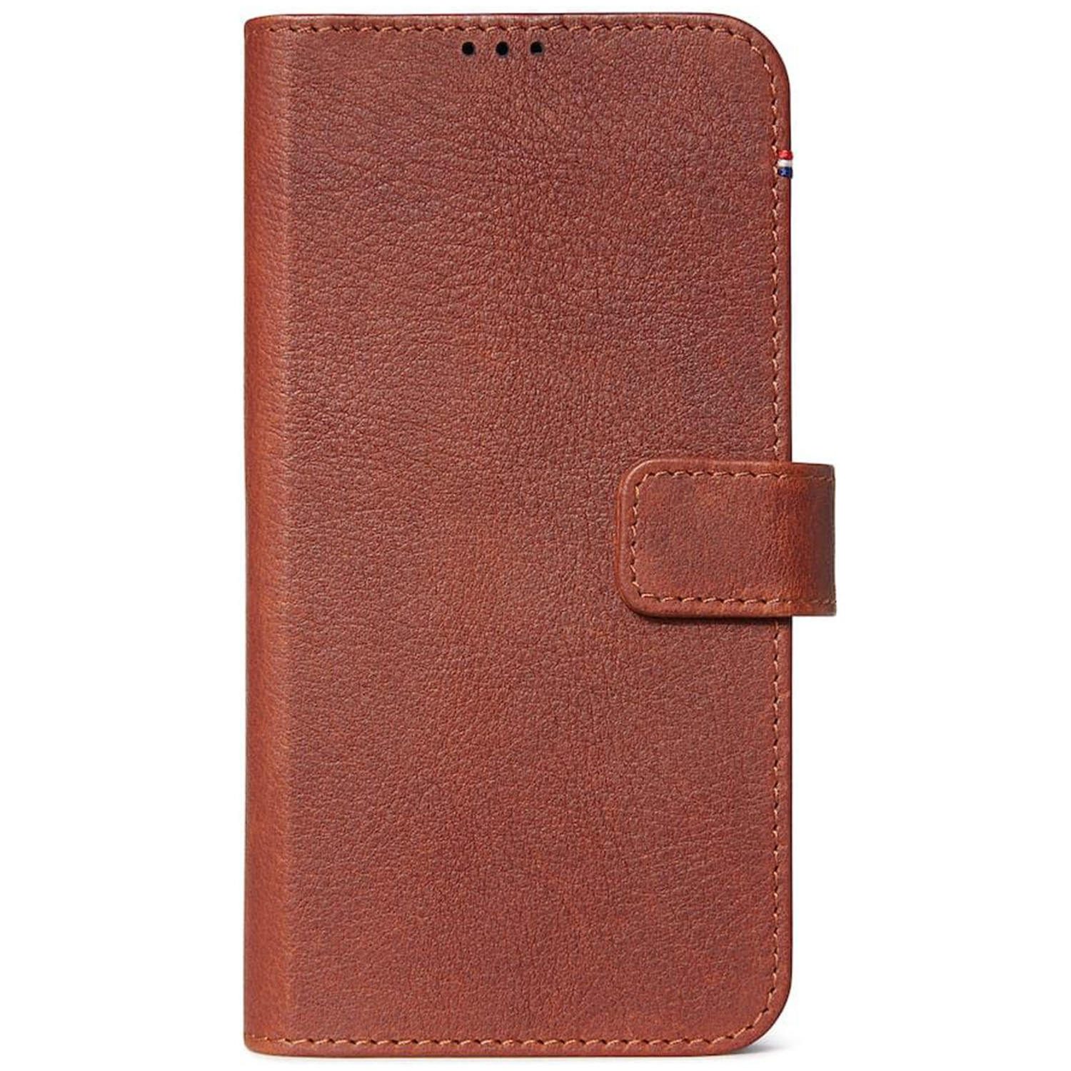 Decoded 2 in 1 Leather Booktype Braun iPhone 11