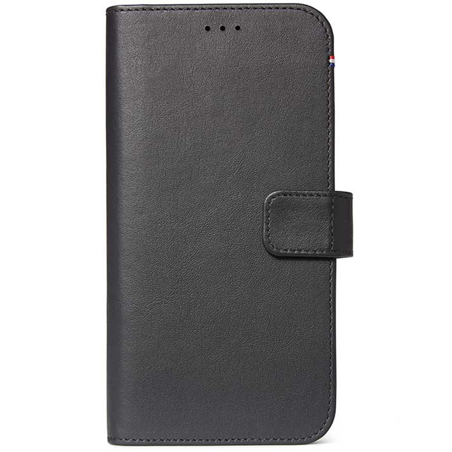 Decoded 2 in 1 Leather Booktype Schwarz iPhone 11