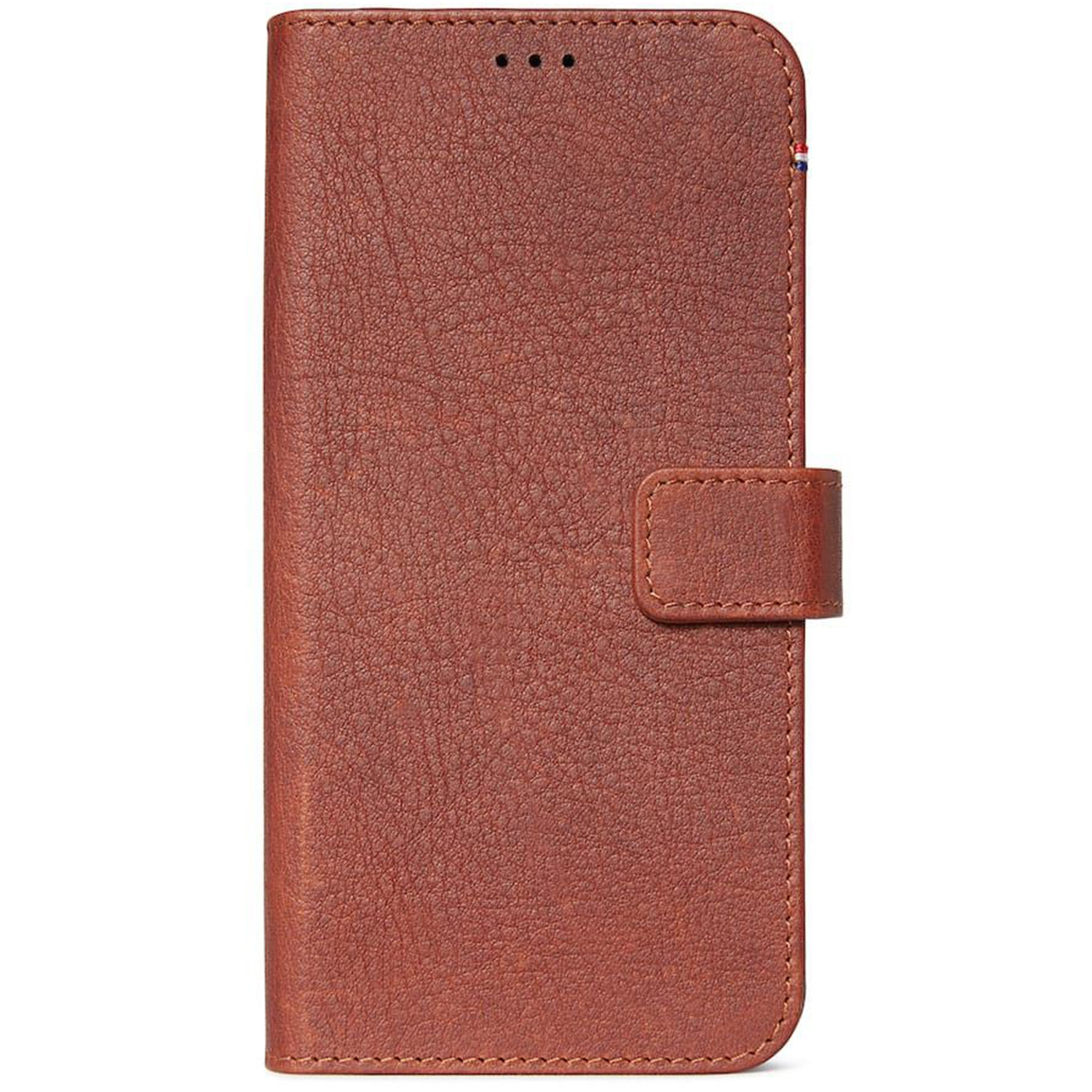 Decoded 2 in 1 Leather Booktype Braun iPhone 11 Pro