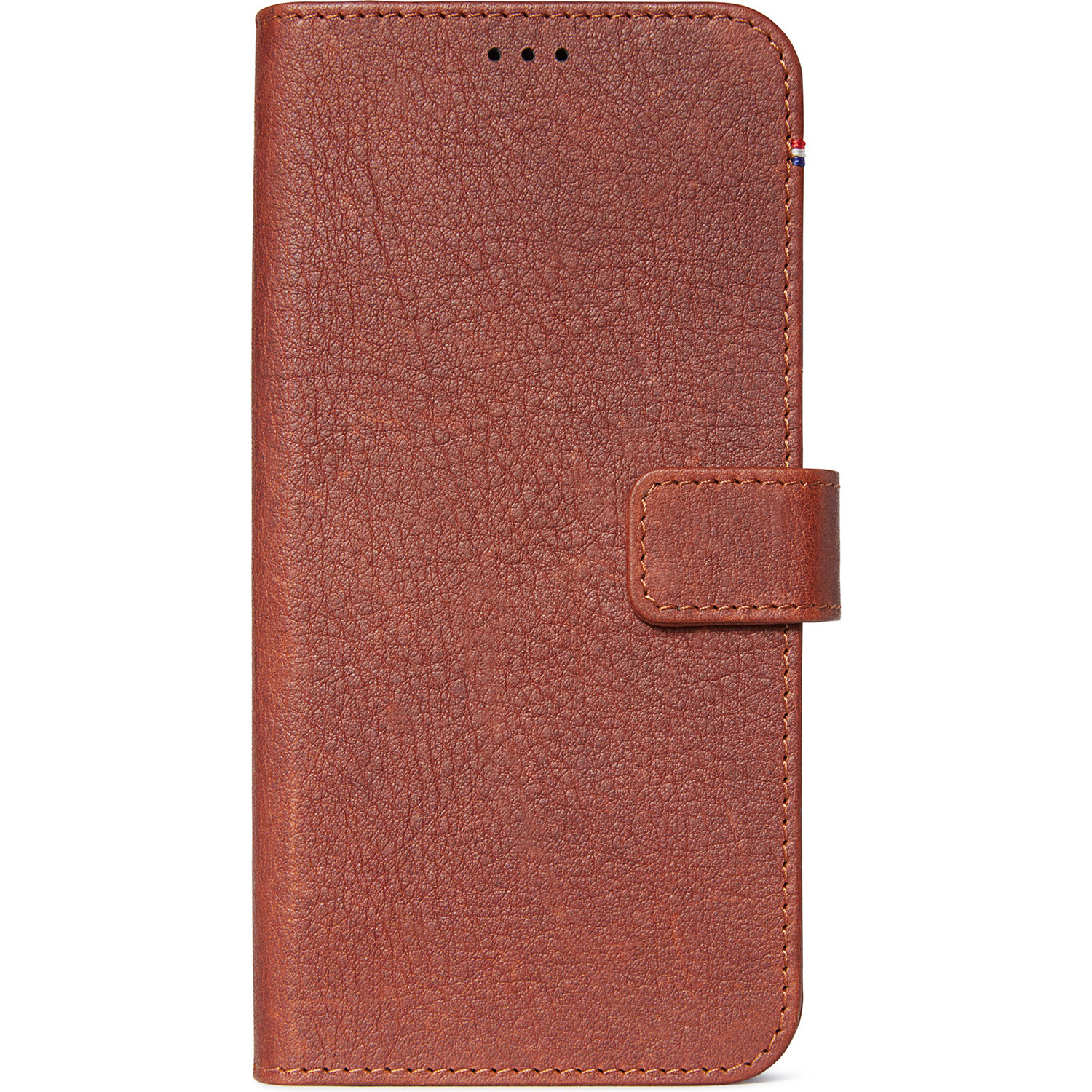 Decoded 2 in 1 Leather Booktype Braun iPhone 11 Pro Max