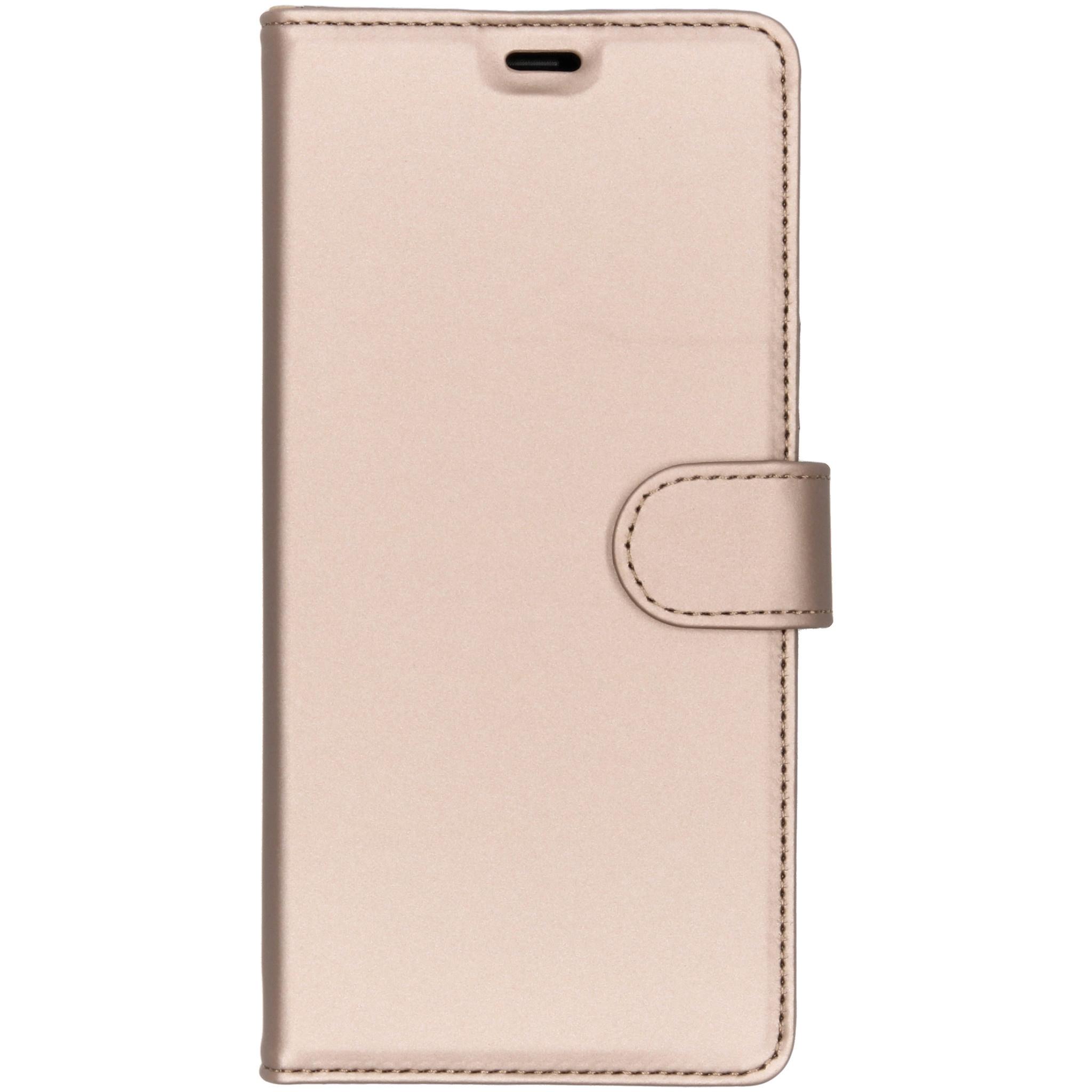 Accezz Wallet TPU Booklet Gold für das Samsung Galaxy Note 9