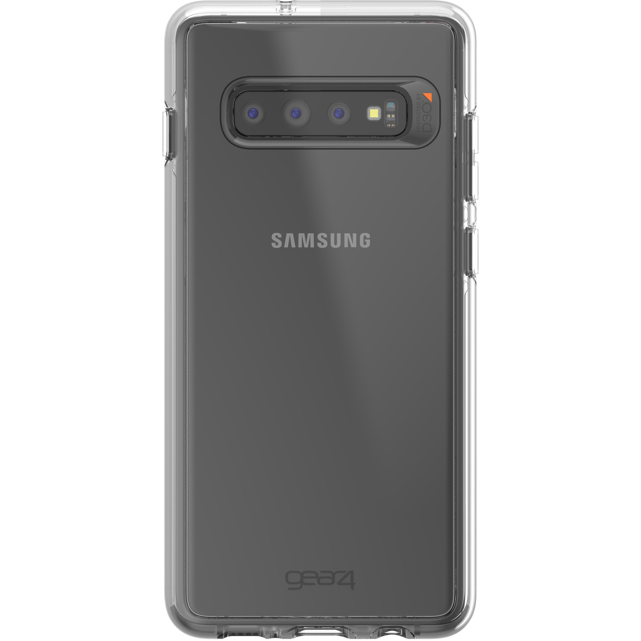 Gear4 Crystal Palace Case Transparent Samsung Galaxy S10 Plus