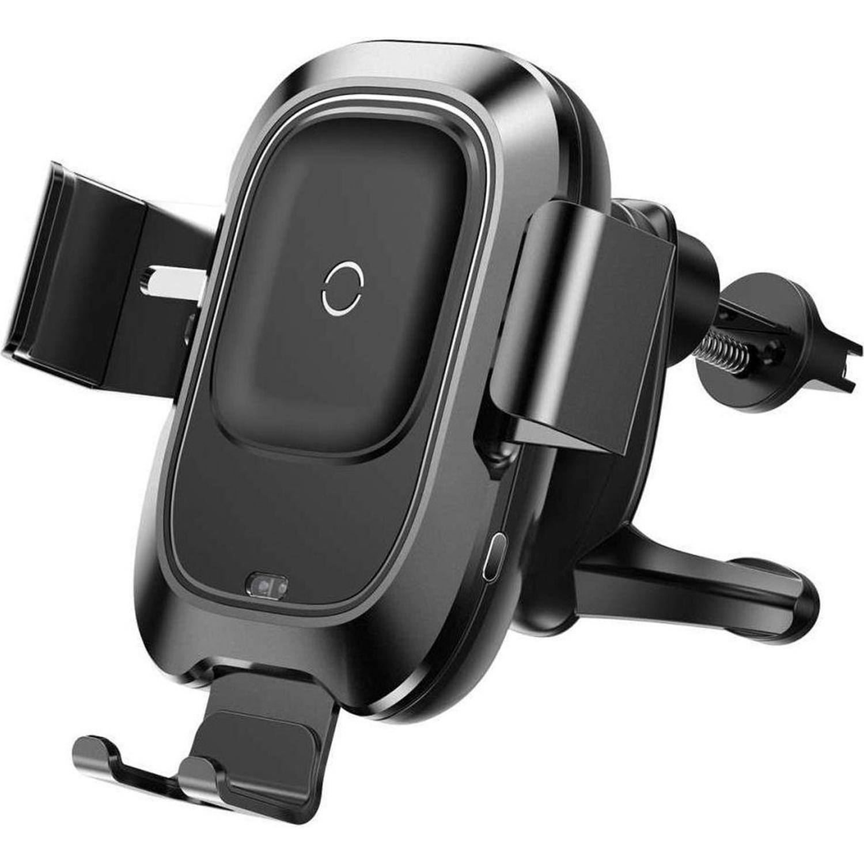 Baseus Metal Wireless Car Charger - Schwarz