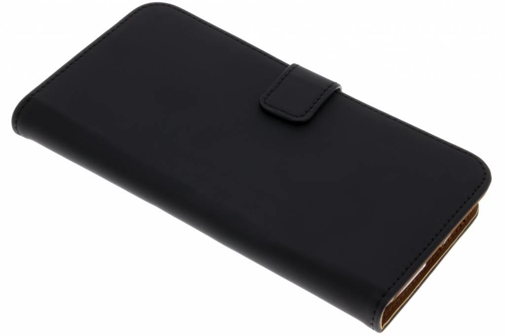 Schwarzer Luxus TPU Book Case für das Motorola Moto G6 Plus