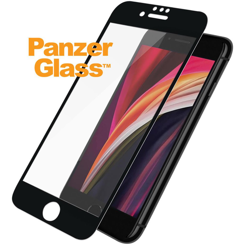 PanzerGlass Case Friendly Displayschutzfolie iPhone SE (2020) - Schwarz