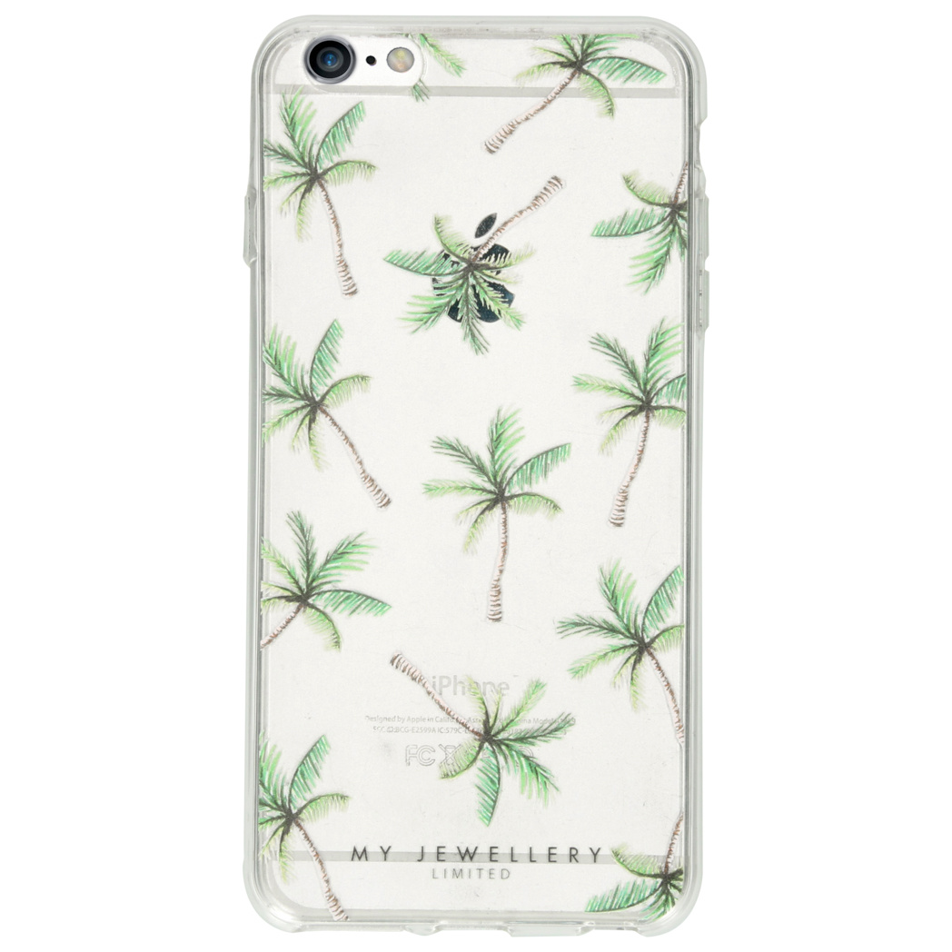 My Jewellery Design Soft Case iPhone 6(s) Plus - Palmtree Illustration