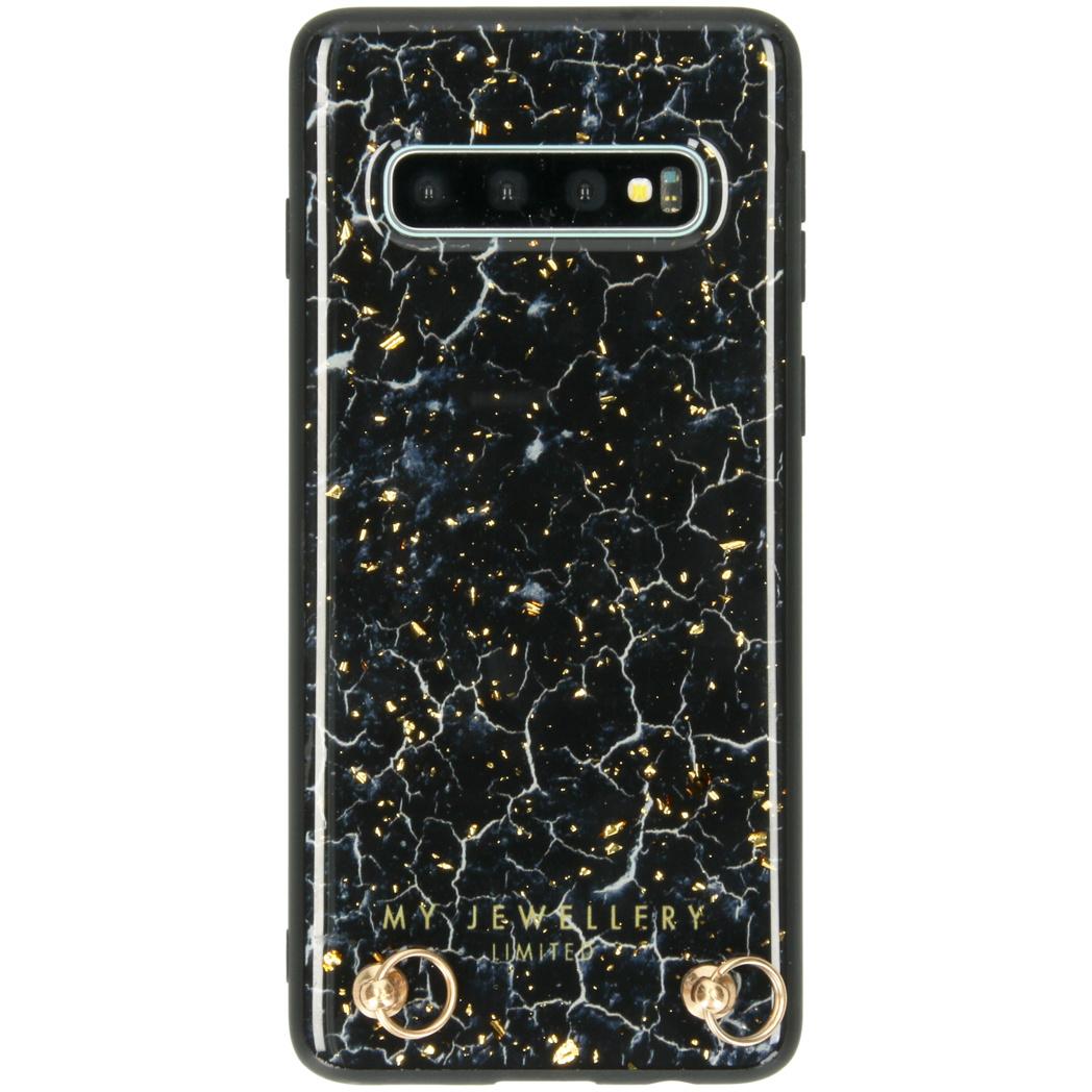 My Jewellery Marmor Hard Case Kordelhülle Galaxy S10 - Blue Marble