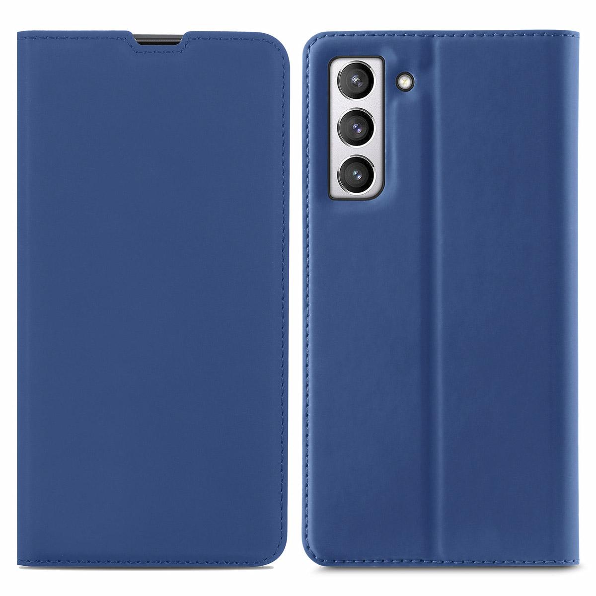 iMoshion Slim Folio Booklet Samsung Galaxy S21 FE - Blau