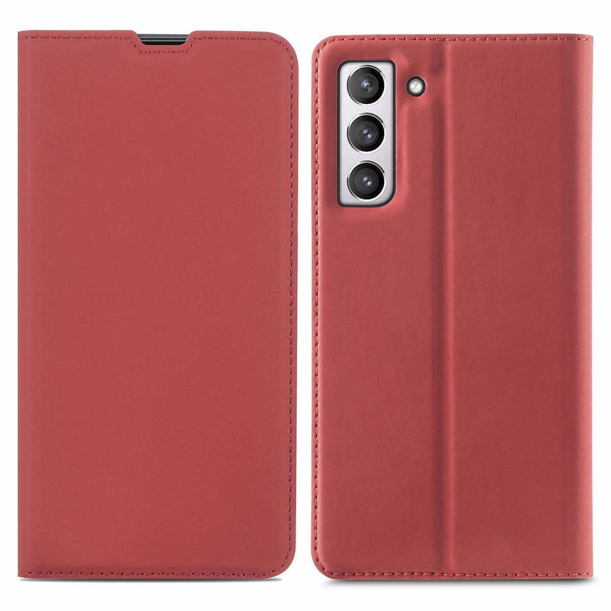iMoshion Slim Folio Booklet Samsung Galaxy S21 FE - Rot