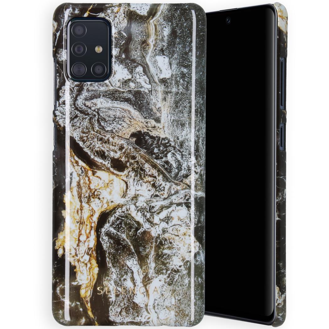 Selencia Maya Fashion Backcover Samsung Galaxy A51 - Quartz Black