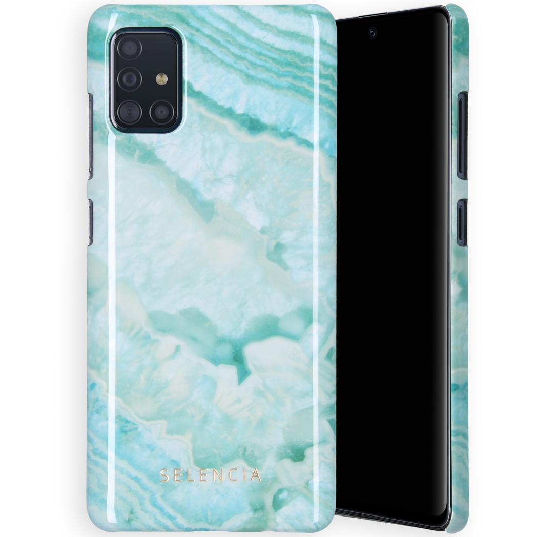 Selencia Maya Fashion Backcover Samsung Galaxy A71 - Agate Turquoise