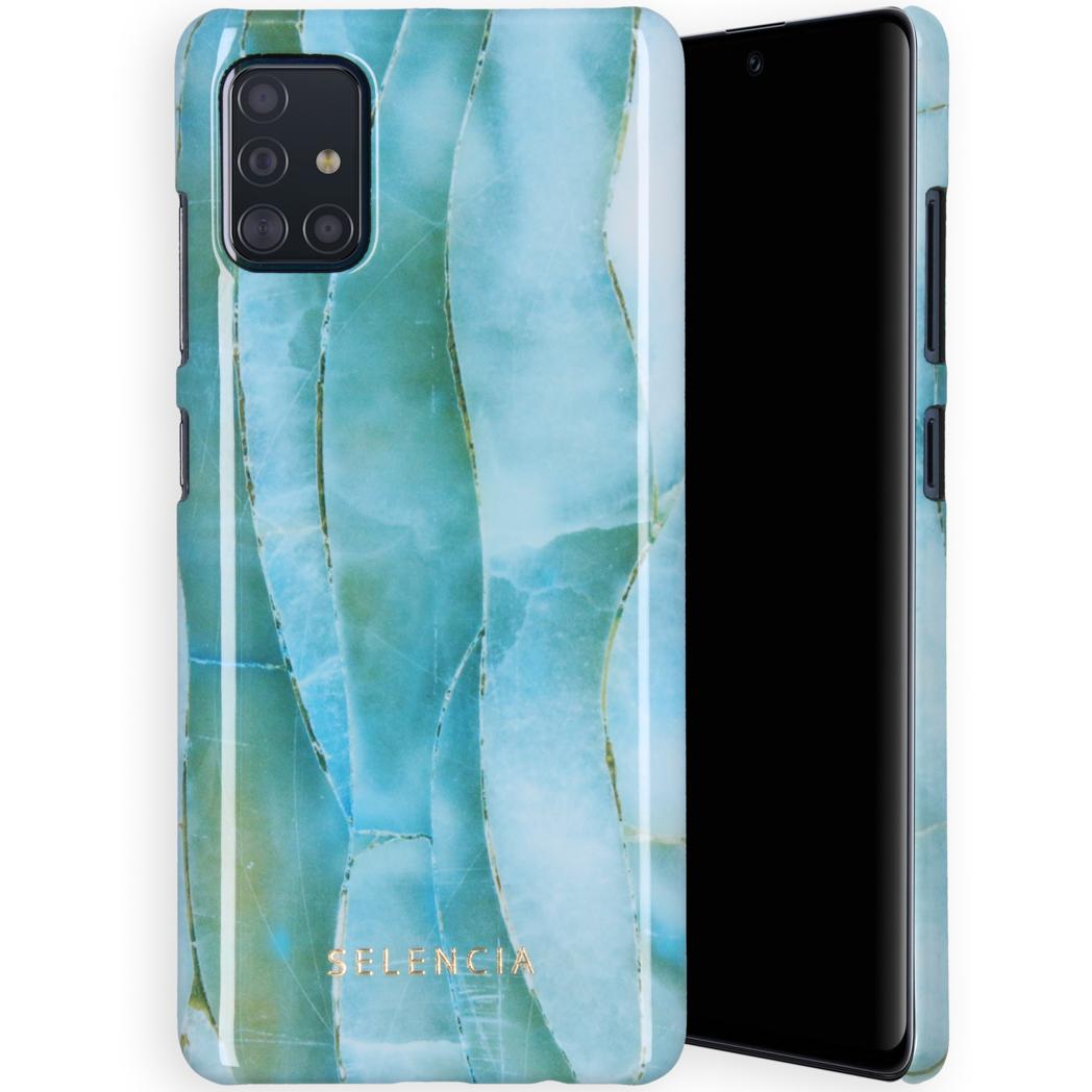 Selencia Maya Fashion Backcover Samsung Galaxy A71 - Agate Blue
