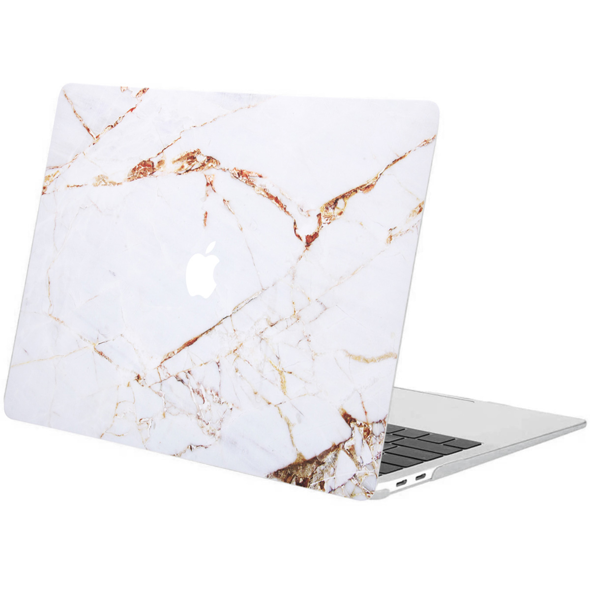 iMoshion Design Laptop Cover MacBook Air 13 Zoll (2020) -White Marble