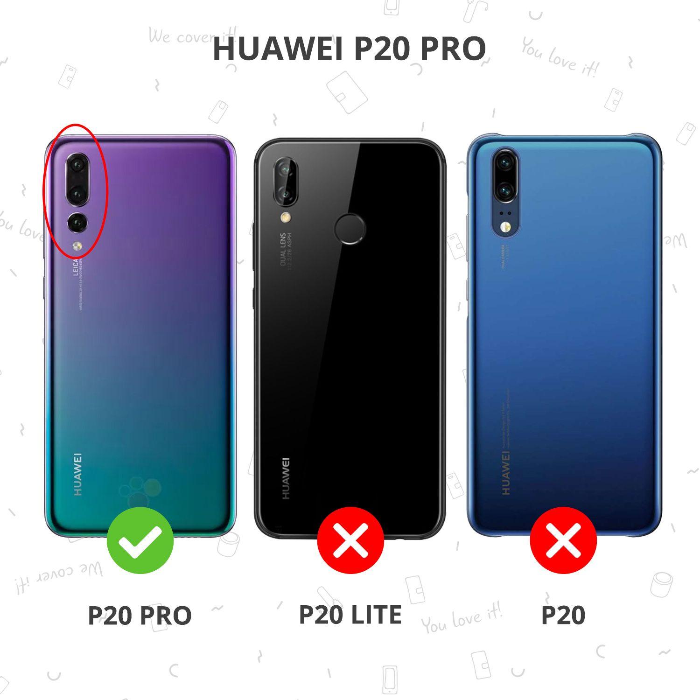 Schwarzer Brushed TPU Case Huawei P20 Pro   Handyhuellen.de