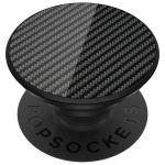 PopSockets Luxus PopGrip - Carbon Fiber Black