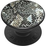PopSockets Luxe PopGrip - Embossed Metal Python