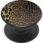 PopSockets Luxe PopGrip - Embossed Metal Leopard