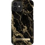 ideal of Sweden Fashion Back Case iPhone 12 Mini - Golden Smoke Marble