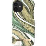 ideal of Sweden Fashion Back Case iPhone 12 Mini - Cosmic Green Swirl