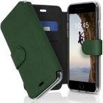 Accezz Xtreme Wallet für das iPhone SE (2020) / 8 / 7 - Dunkelgrün