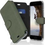 Accezz Xtreme Wallet für das iPhone SE (2020) / 8 / 7 - Hellgrün
