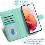 iMoshion Luxuriöse Portemonnaie-Hülle Galaxy S21 FE - Grün