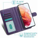 iMoshion Luxuriöse Portemonnaie-Hülle Galaxy S21 FE - Violett