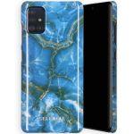 Selencia Maya Fashion Backcover Samsung Galaxy A71 - Onyx Blue