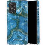 Selencia Maya Fashion Backcover Samsung Galaxy A72 - Onyx Blue