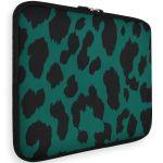 iMoshion Universele Design Sleeve 15 Zoll - Green Leopard