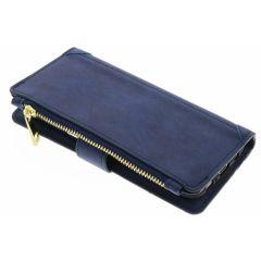 Blaue luxuriöse Portemonnaie-Hülle für das Galaxy S8 Plus