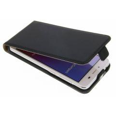 Luxus Flipcase für Huawei Y5 2/Y6 2 Compact - Schwarz