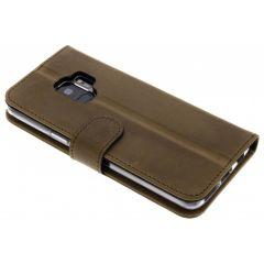 Valenta Braunes Booklet Classic Luxe für das Samsung Galaxy S9