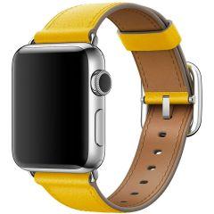 Apple Leather Band Buckle für Apple Watch Series 1-7 / SE - 38/40mm - Sunflower
