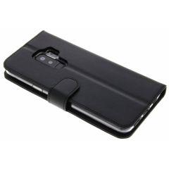Valenta Schwarzes Booklet Classic Luxe Samsung Galaxy S9 Plus