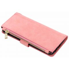 Luxuriöse Portemonnaie-Hülle Rosa Galaxy A6 Plus (2018)