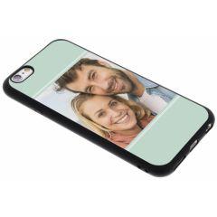 Gestalte deine eigene iPhone 6 / 6s Gel Hülle - Schwarz