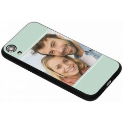 Gestalte deine eigene iPhone Xr Gel Hülle - Schwarz