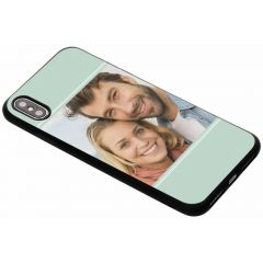 Gestalte deine eigene iPhone Xs Max Gel Hülle - Schwarz