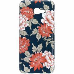 Blue Flowers Passion Hard Case Samsung Galaxy J4 Plus
