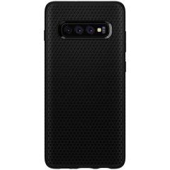Spigen Liquid Air Case Schwarz für das Samsung Galaxy S10